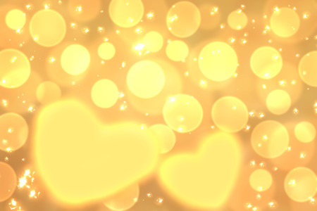 universal love: Resumen de colores de fondo desenfocado, borrosa efecto bokeh luces en forma de coraz�n textura, fondo. Fondos de escritorio universal, protector de pantalla para el D�a de San Valent�n con corazones amarillos. El amor, la pasi�n, los sentimientos concepto.