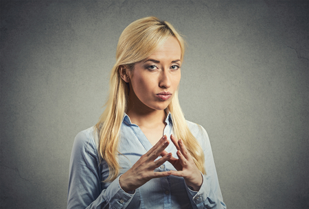 duplicitous:  Negative human emotion facial expression feelings body language