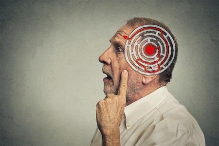decisions: Right decision wisdom strategy concept.  Stock Photo