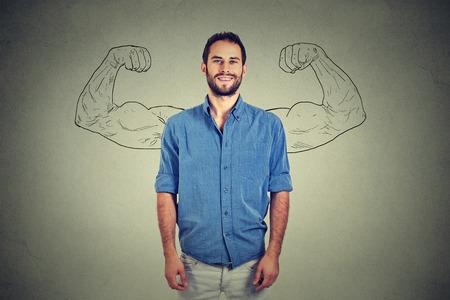 強い男 写真素材