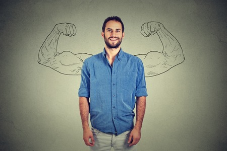Strong man Banque d'images