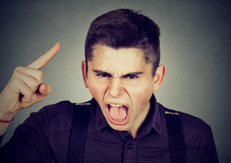pissed off: portrait of an angry young man