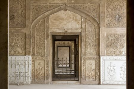 Doorways of sleeping chambers, the Lahore Fort, Lahore