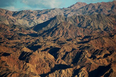 hummock: red sea desert background and blue sky