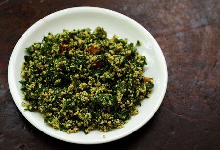 tabbouleh: tabbouleh appetizer Stock Photo