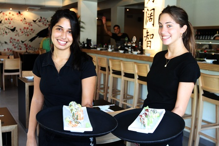 restuarant: Service with a smile
