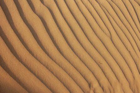 yellow sand dune texture Stock Photo