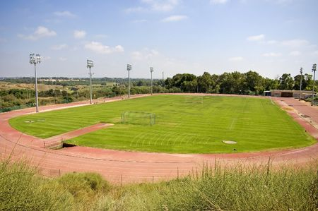 Olympisch Stadion Stockfoto