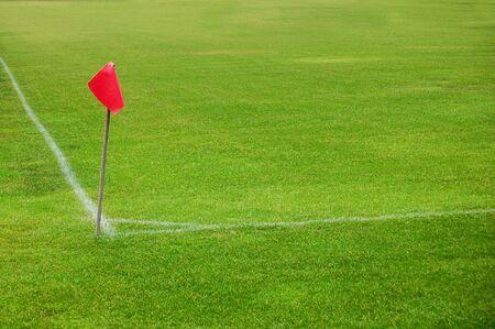 soccer field corner photo