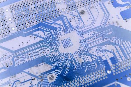 electrical circuit close-up