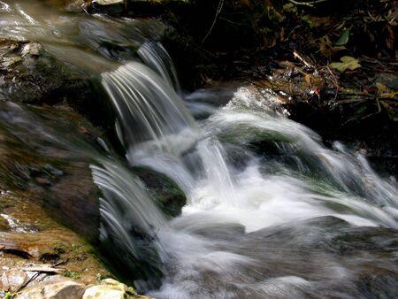 lange blootstelling van de water val