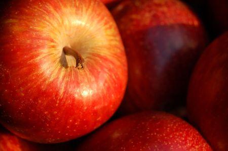 rode appels close-up