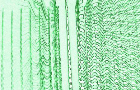 green wavy texture