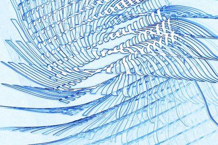 blue vortex Stock Photo - 1117561