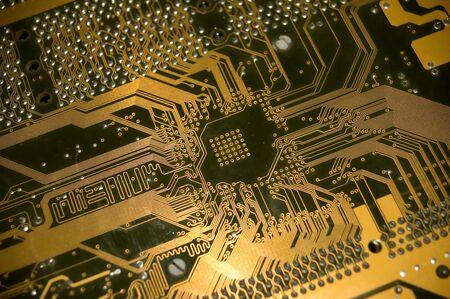 elektrische circuit close-up