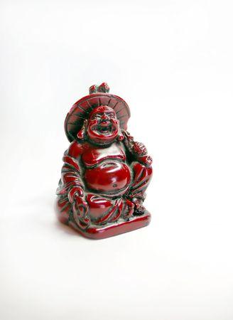 geïsoleerde Boeddha beeld