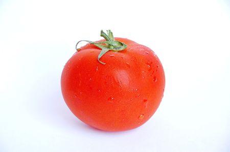 natte tomaat Stockfoto