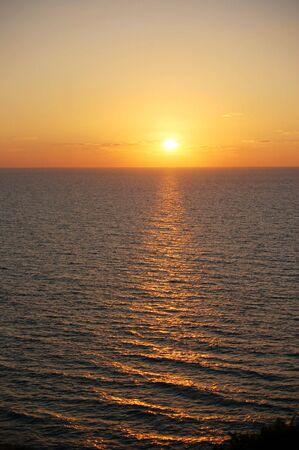 gouden zons ondergang