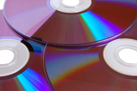geïsoleerde dvd-schijven