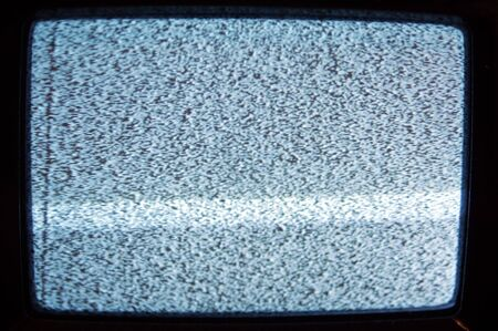 Old analogue TV Static