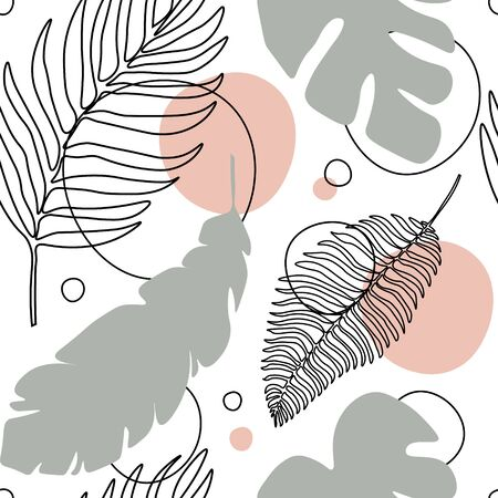 Tropical Leaves and Abstract Elements