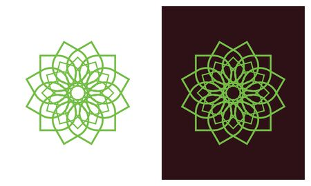 Nature leaf logo, environment logo , ecology logo template designs, Lotus Wellness Logo Design Template Element