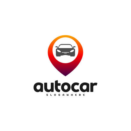 Car Point Logo Template Designs. Auto car logo point Reklamní fotografie - 150617553