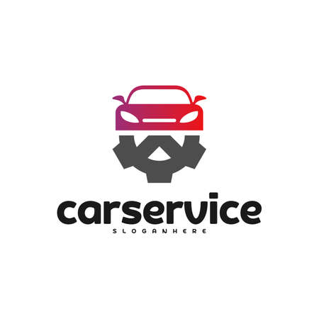 Car Service Logo vector. Car Repair Logo Design Template Ilustrace