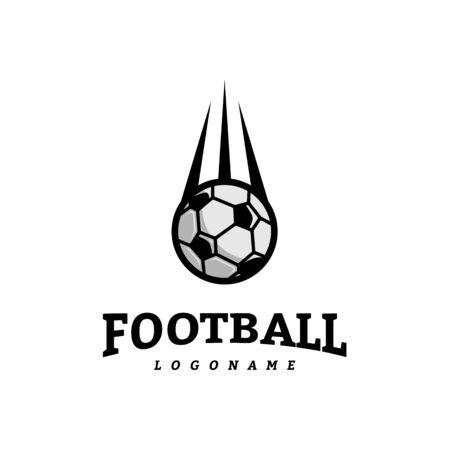 Soccer Football Badge Logo Design Templates. Sport Team Identity Vector Illustration Logó
