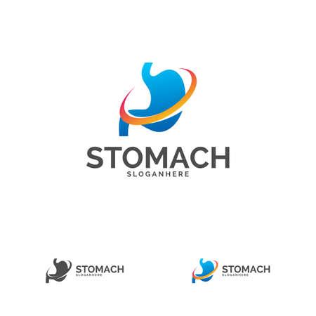 Stomach Template Design Vector, Stomach Care Design Concept Vector Ilustrace