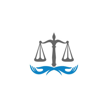 Law Care Logo design template. Law Firm logo concepts. Attorney logo concepts Vector