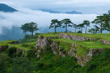 Nuages Château de Takeda