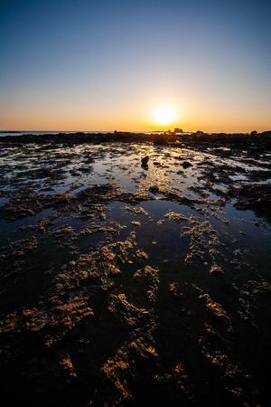 Tsujimoto no Tsuji of sunset time
