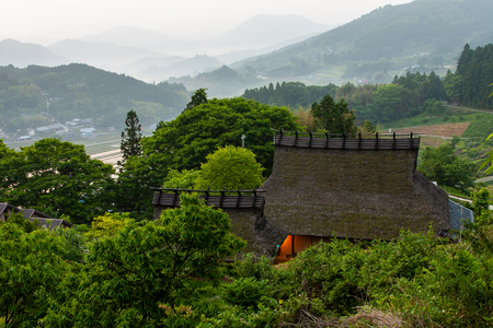 The sea of clouds and the thatched roof of Nose