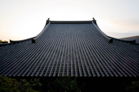 Regular tiled roof