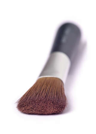 isoliert: make up brush from natural hair