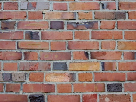 レンガ ブロックの壁