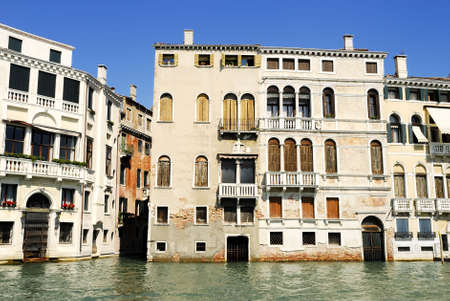 italien: Canal Grande. Venice in northern italy Stock Photo