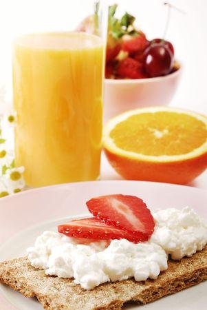 healty: Breakfast table, brunch