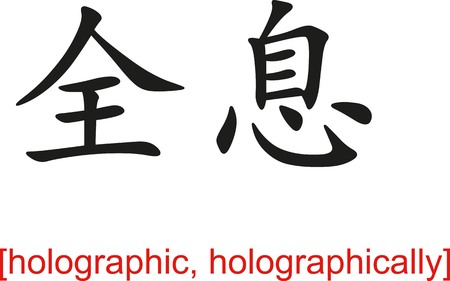 Chinese calligraph as design templates, art elements or body jewellery.