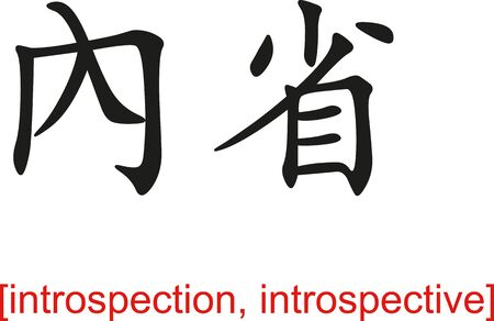 introspection: Chinese calligraph as design templates, art elements or body jewellery.