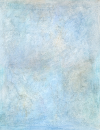artistic blue oil painting, hand painted background texture Stock Photo