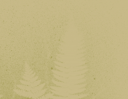 sepia artistic botanical fern nature background texture