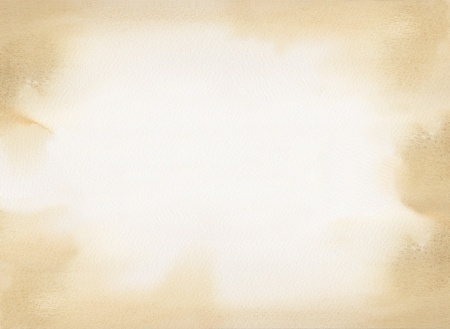 sepia watercolor texture background Stock Photo