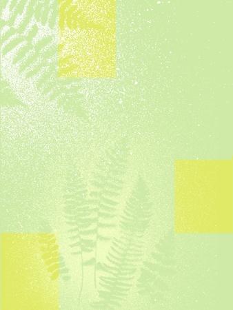 istic green botanical fern nature background texture