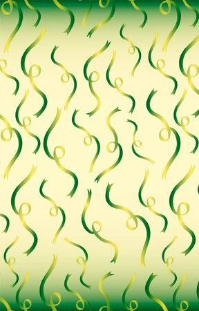 vector seamless pattern party streamers
