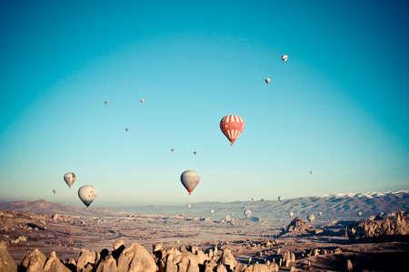 adventure holiday: Hot Air Baloons at Cappadocia