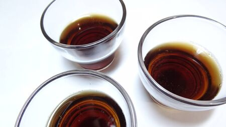 Red wine and glass Standard-Bild