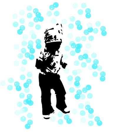 blissful: Child bubbles
