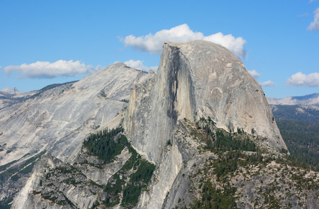 Half Dome at Yosemite National Park, California photo